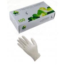 Перчатки винил, PF, нестерил, белые (№100) Klever