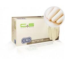 Перчатки нитрил, текстура на пальцах, PF, белые, EN5 (№200) Clean+Safe №11