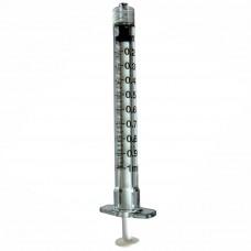 Шприц 1мл BD Plastipak, без иглы, Luer Lock трехкомпонентный