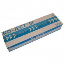 Шприц 3мл KDM, съемная игла 23G (0,6х30), трехкомпонентный